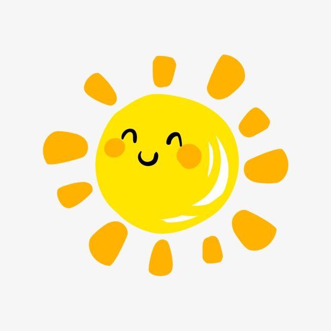 650x650 happy sunshine, sunshine clipart, cartoon, smile png image