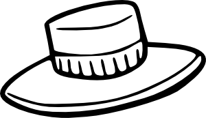 300x173 Collection Of Free Drawing Hats Sun Hat Download On Ui Ex
