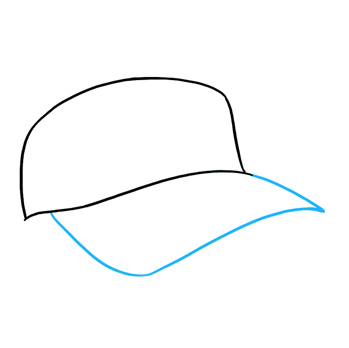 680x678 How To Draw A Baseball Cap