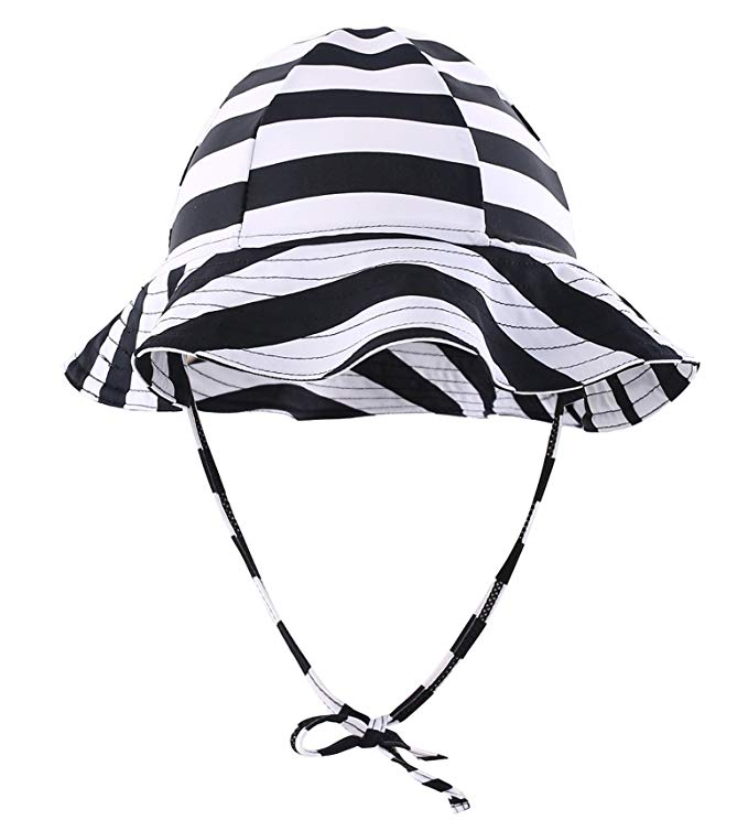679x754 Connectyle Girls Boys Kids Floppy Brim Swimming Hat