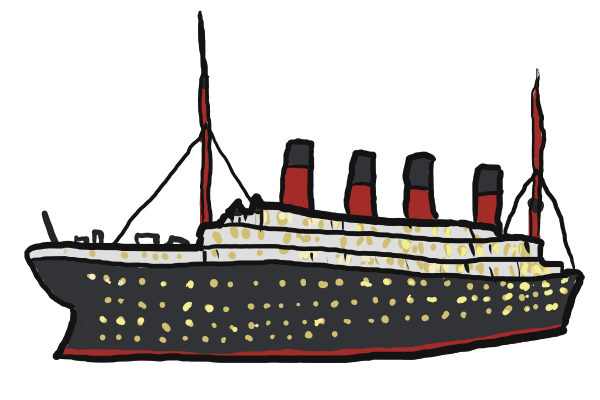 600x400 Drawing Boats Cargo Ship Huge Freebie! Download For Powerpoint