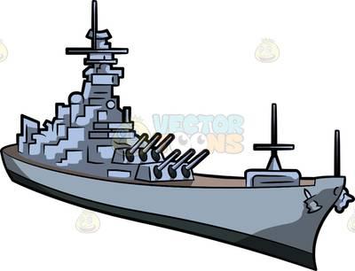 400x306 Navy Ship Clipart