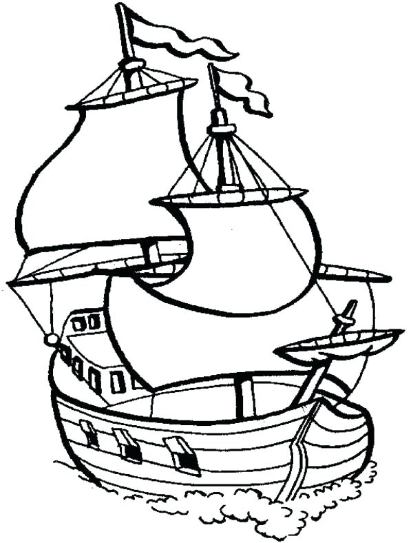 600x788 Ship Coloring Pages Sunken Pirate Ship Coloring