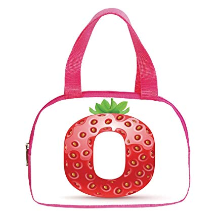 425x425 Increase Capacity Small Handbag Pink,aquarium,graphic