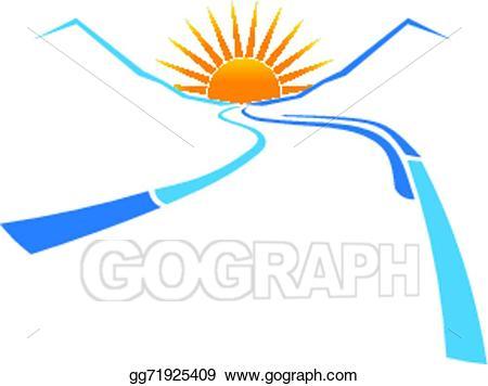 450x356 sunrise logo clip art sunrise vector drawing represents logo