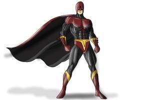 300x200 How To Draw Superhero Step