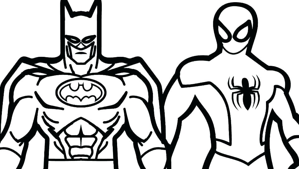 960x544 Superhero Coloring Awesome Marvel Superhero Coloring Pages