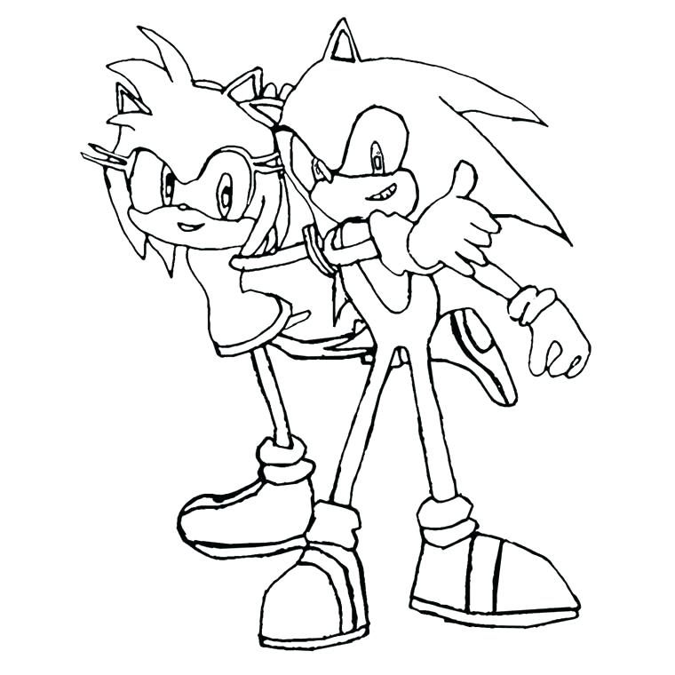 760x760 coloriage sonic shadow sonic shadow coloring