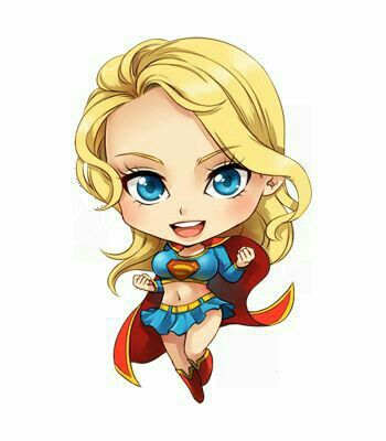 350x400 supergirl animation love!!! chibi marvel, supergirl, chibi