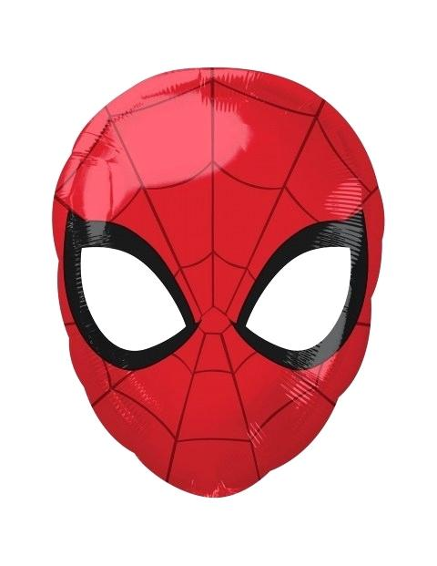 480x621 Face Of Spiderman Web Exclusive Balloon Face Large Party Fiesta