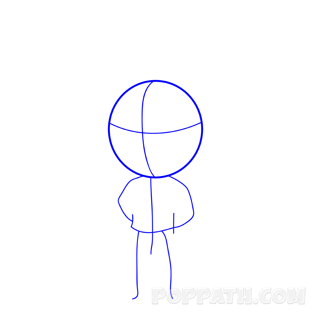 1000x1000 How To Draw A Chibi Super Hero Pop Path