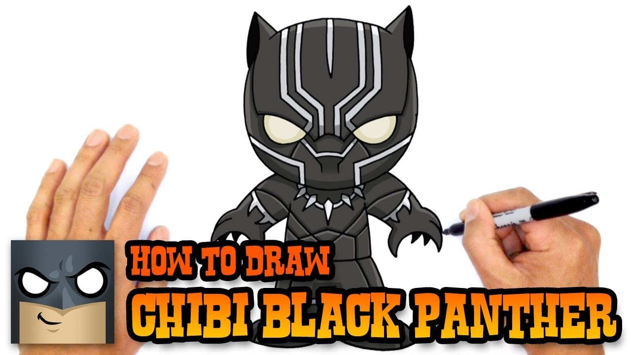 1280x720 How To Draw Black Panther The Avengers
