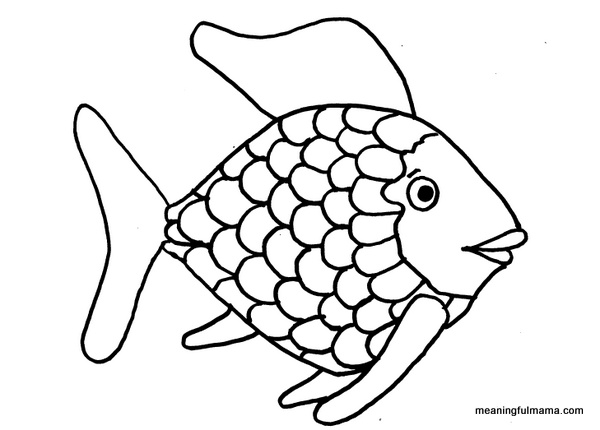 600x430 Outlines Of Fish Fish Templates Free Premium Templates Girls