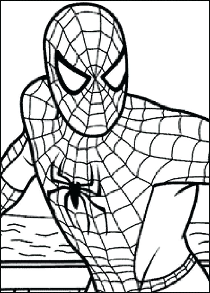 736x1030 Superhero Coloring Sheets For Preschoolers Ro Coloring Pages