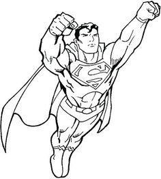236x262 Superman Outline