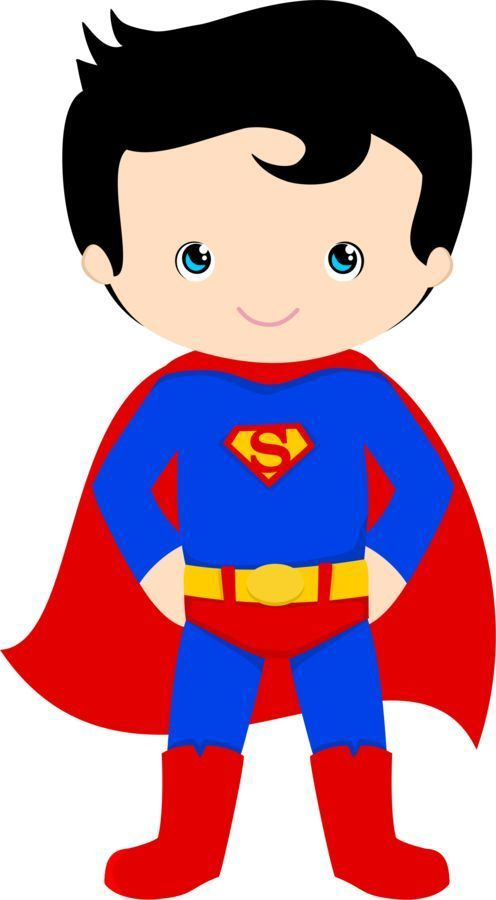 496x900 Awesome Super Hero Clip Art Clipart At Get Drawing Com Free