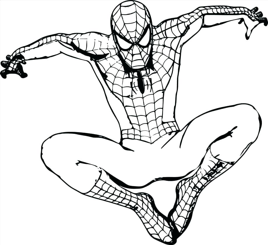 919x840 Coloring Pages Soccer Superhero Printable Ball Colouring