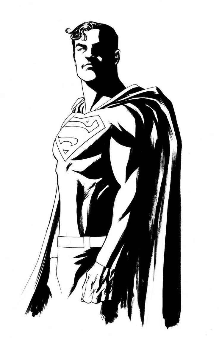 Superman Drawing Pictures