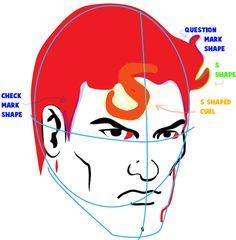Superman Drawing Tutorial
