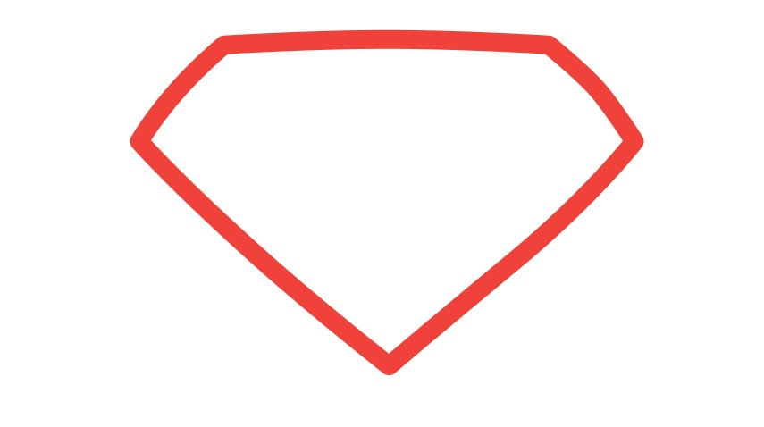 855x478 Man Of Steel Symbol In Illustrator And Photoshop