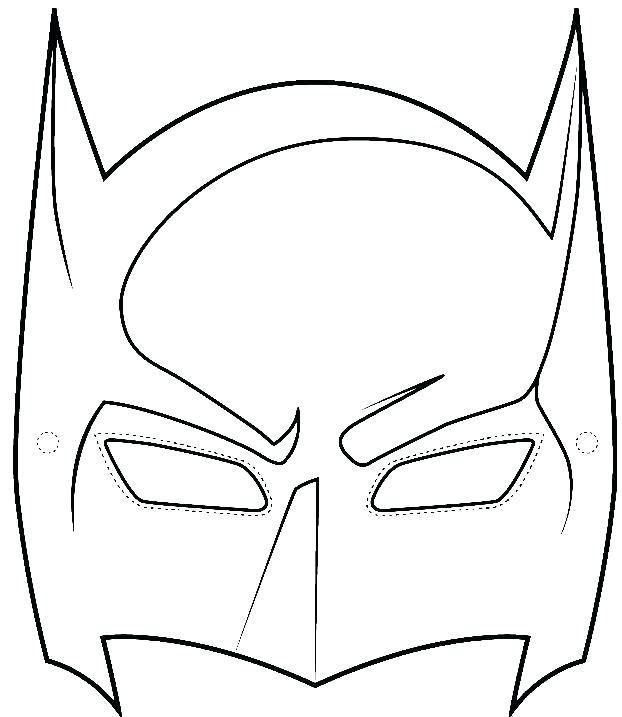622x717 batman mask drawing sample batman mask template best best batman