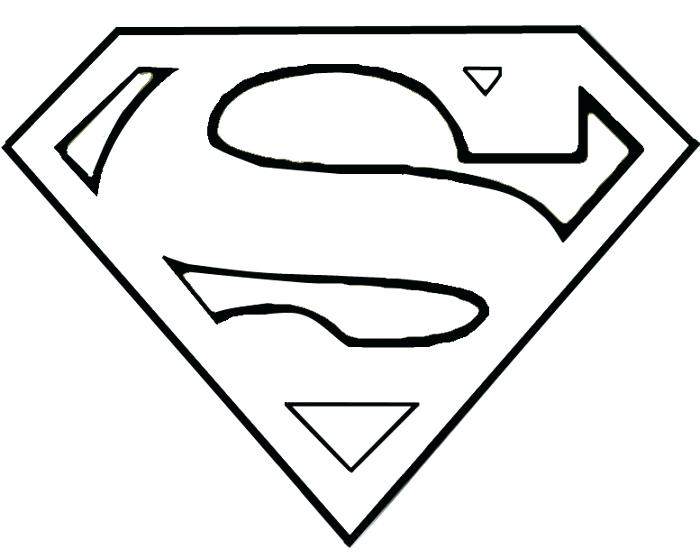 700x558 superman outline superman logo outline superman outline vector