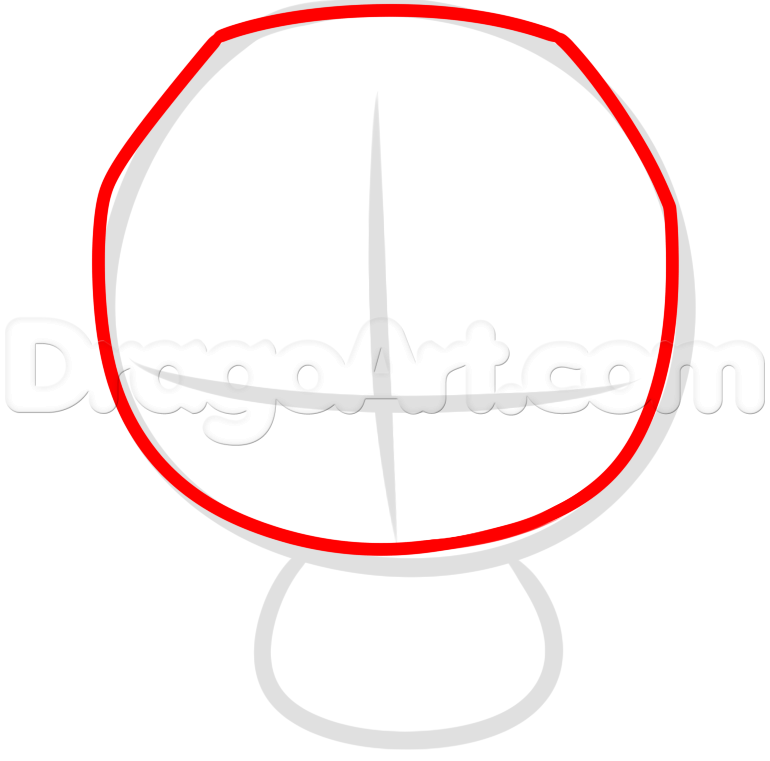 770x761 How To Draw Kawaii Superman, Step