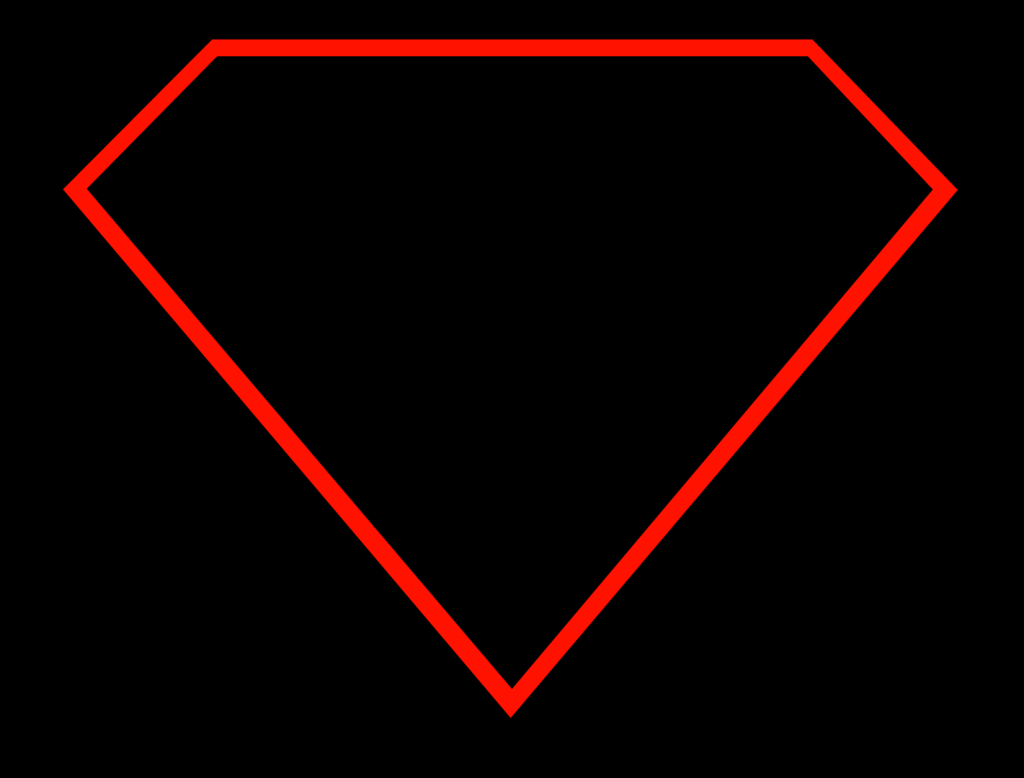 1024x778 How To Draw Superman Logos