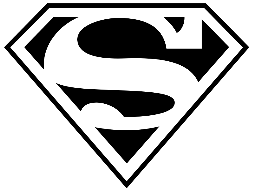 825x626 How To Draw Superman Logos