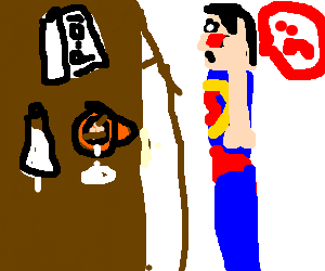 300x250 Mad Drawing Superman Transparent Png Clipart Free Download