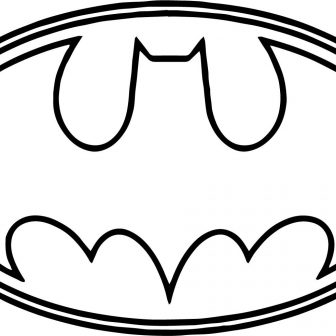 336x336 Symbol Batman Black And White To Draw Superman For Kid Electrical