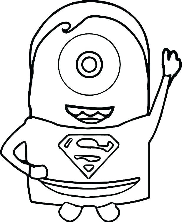 618x752 Superman Cartoon Coloring Pages Zupa
