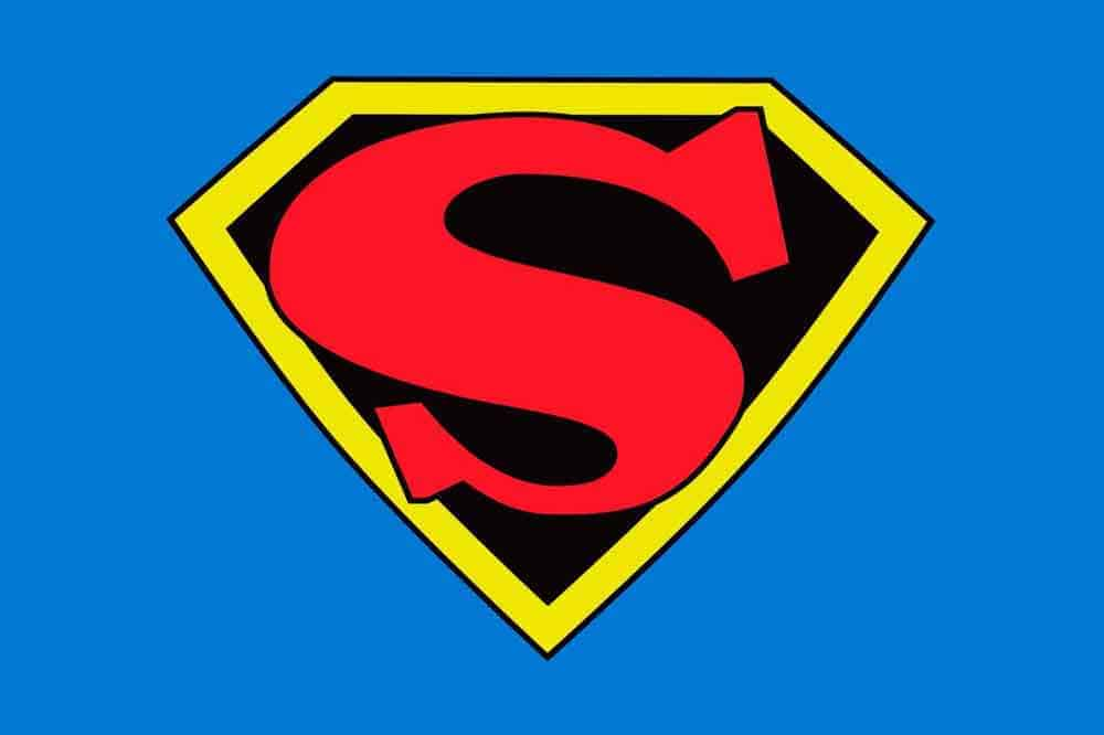 Superman Sign Drawing   Free download on ClipArtMag