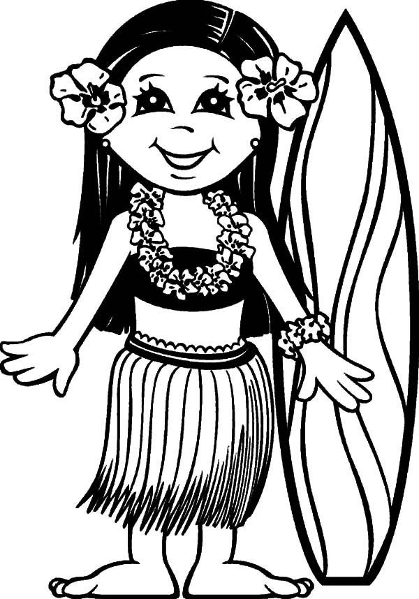 Collection of Hawaii clipart