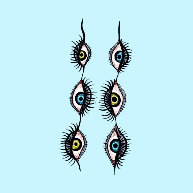 Weird Eye Art Drawings