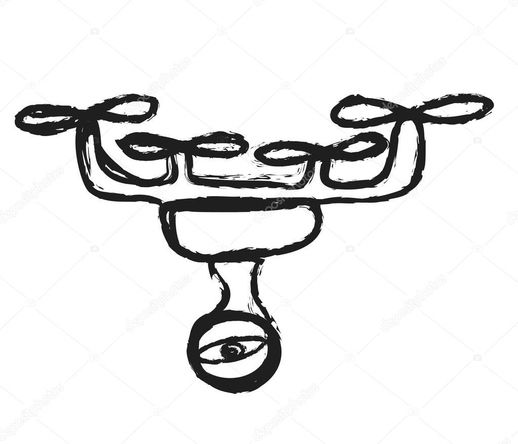 Surveillance Camera Drawing