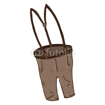 400x400 pants with suspenders vector illustration of cartoon pants