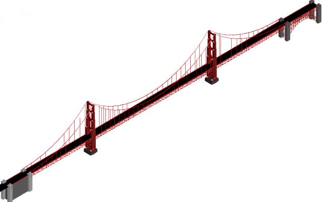 650x400 Bridge Drawing Architecture Design