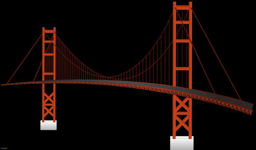 833x490 Golden Gate View Point Cool Golden Gate Bridge Drawing Splendid