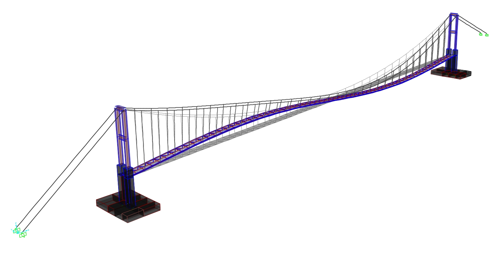 1608x851 Suspension Bridge Over River Arda Near Madjarovo, Bulgaria