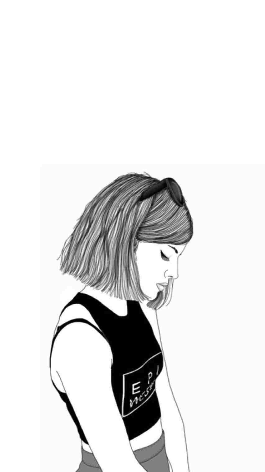Swag Girl Drawing
