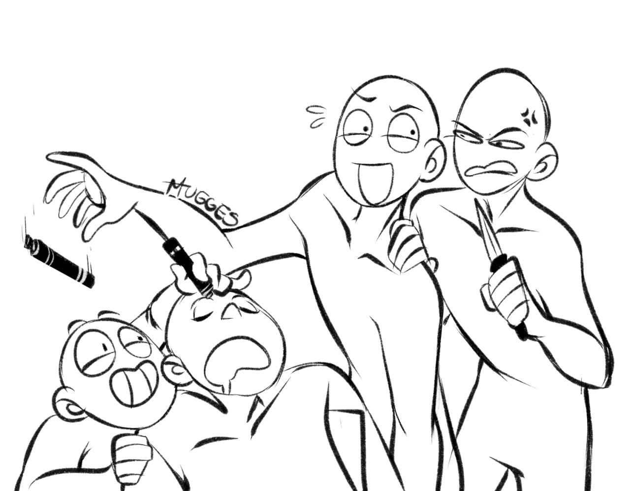 Swat Team Drawing