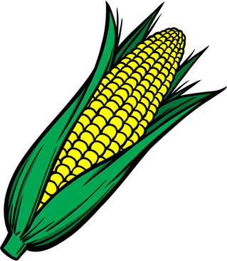 319x368 Corn Clipart