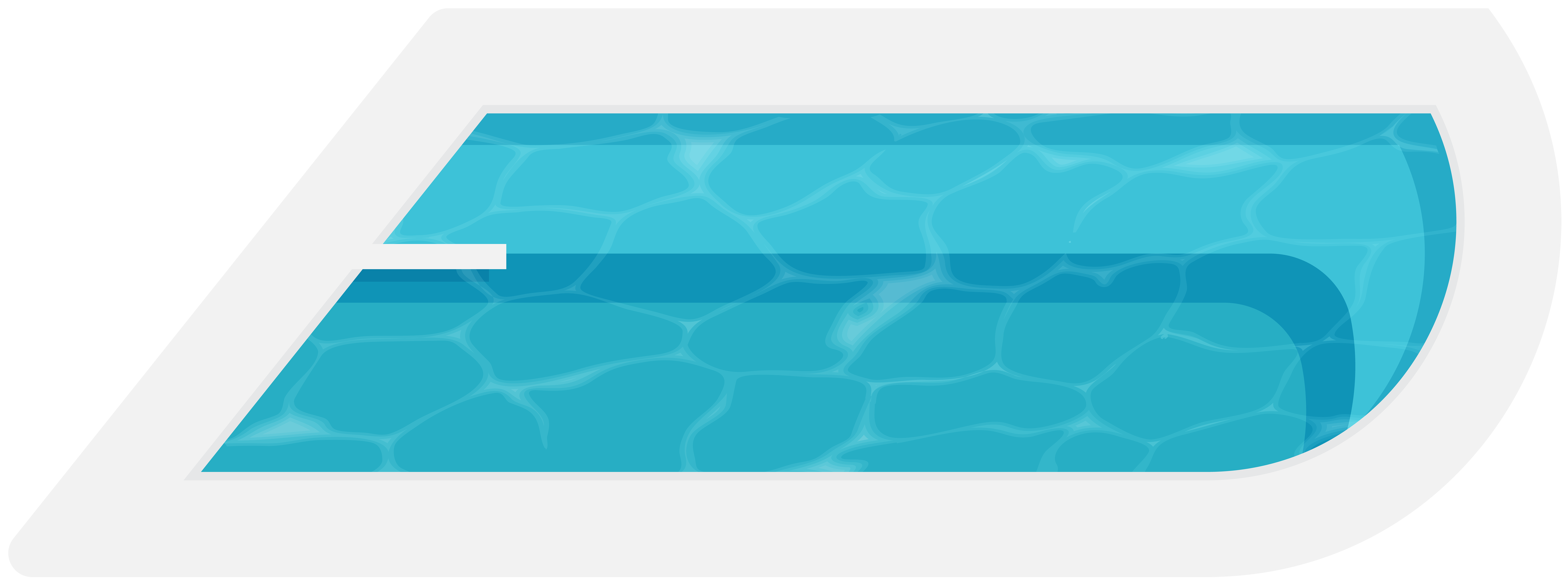 8000x2995 Drawing Pool Competitive Swimming Frames Illustrations Hd