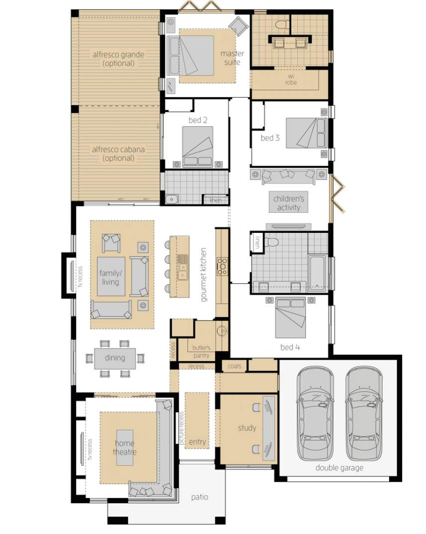 855x1071 Monte Carlo Contemporary Home Design Mcdonald Jones Homes