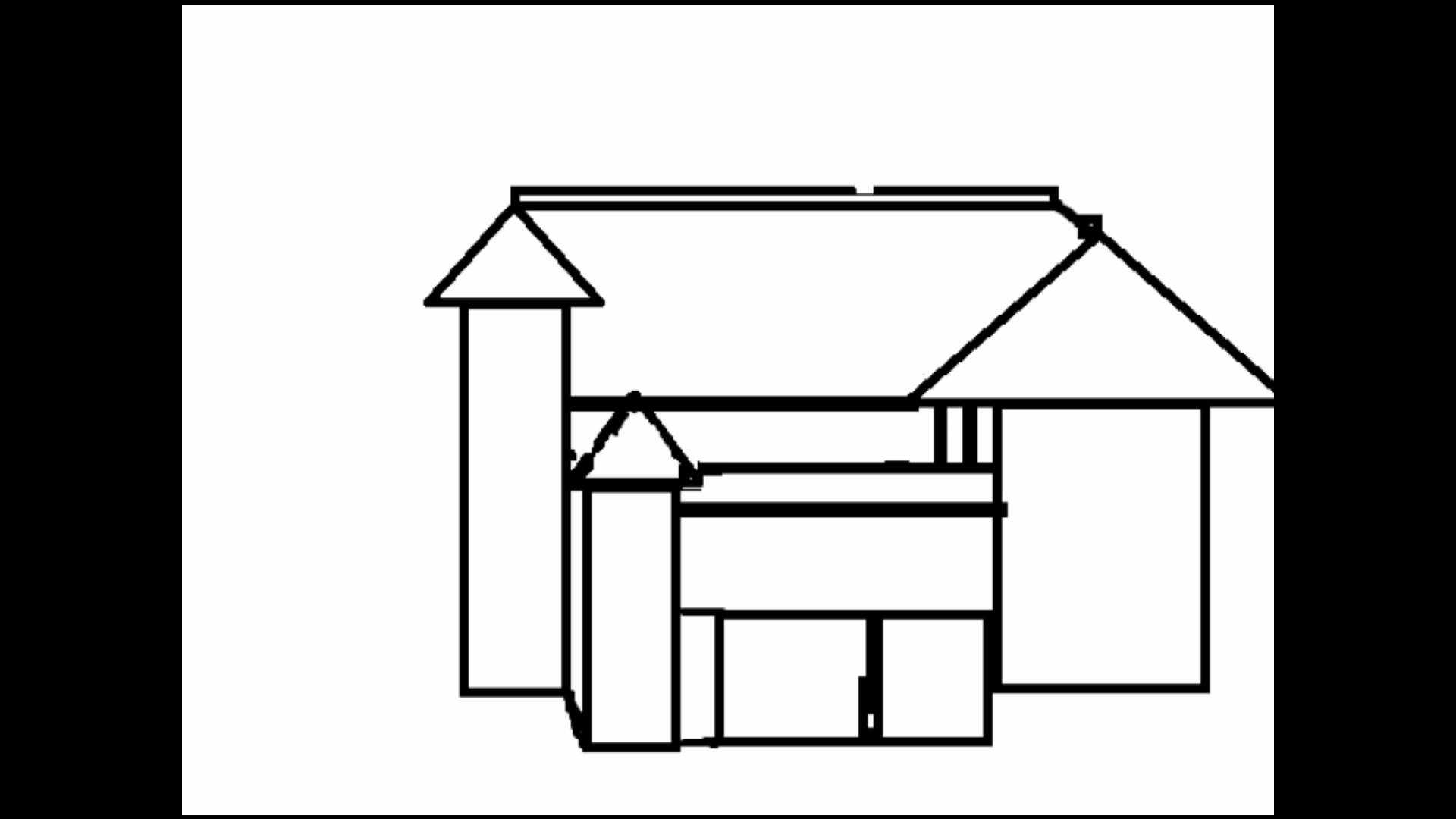 1920x1080 Dreamhouse Drawing Swimming Pool For Free Download