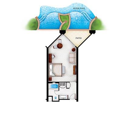 428x390 Swim Up Rooms