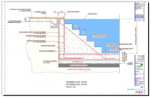 300x194 Swimming Pool Collection Of Construction Details