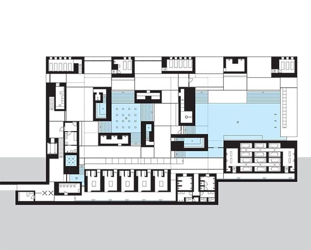 635x511 Thermal Baths In Vals, Switzerland