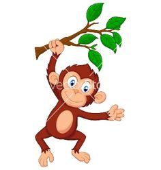 Swinging Monkey Drawing